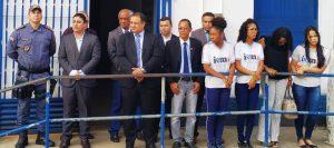 Vereador Adaildo Borges e autoridades comemoração dia do soldado