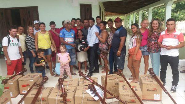 Batista Carvalhal e União de Moradores de São Benedito