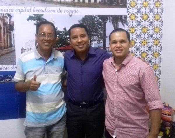 Vereador Adailso Borges, Penha de São Luís e Denis de Mirinzal