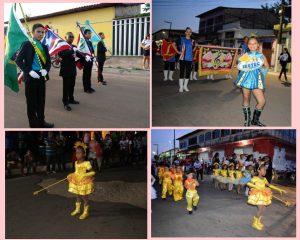 Desfile da escola IESTEC