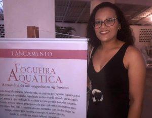 Ríulla Abreu - Bibliotecária do IEMA