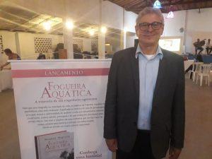 """Lançamento oficial do livro """"Fogueira Aquática"""