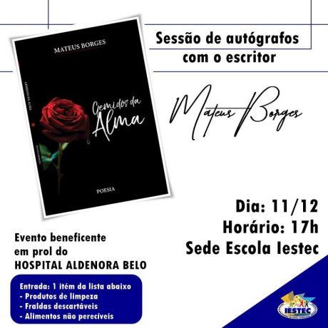 Convite IESTEC e Matheus Borges