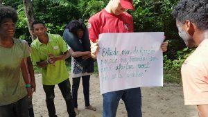 GAE - Acampamento na comunidade de Fortaleza.1