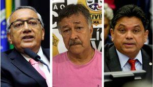 Gastão Vieira, Pestana e Márcio Jerry