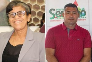 Prefeita Rosinha e Secretário Marcelo Mendes