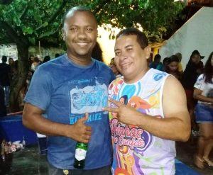 Claudio Mendes e Edson Piedade