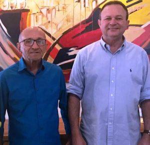 Ribamar Almeida prefeito de Serrano do Maranhão e Vice-Governador Carlos Brandão