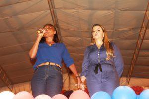 Convenção em Serrano do MA, Val Cunha e professora Roseni, (1)