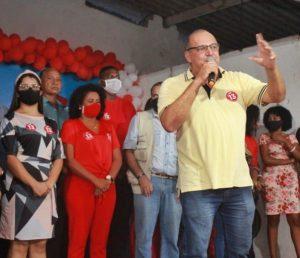 José Antonio Helly, Dirigente Estadual do Partido dos Trabalhadores - PT do Maranhão.