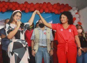 Vanusa de Hermininho candidata a vice prefeita.
