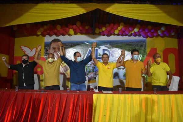 CURURUPU: Aldo Lopes e Gustavo Pestana são homologados em convenção como candidatos em Cururupu