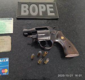 Operação da PMMA culmina com apreensão de arma de fogo em Serrano-MA