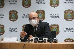 Delegado Regional de Combate ao Crime Organizado da Polícia Federal, Alan Robson Alexandrino, afirmou que todos foram ouvidos e liberados — Foto: Natinho Rodrigues