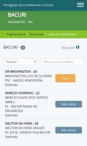 Justiça eleitoral confirma Dr. Washington Luiz prefeito reeleito em Bacuri.