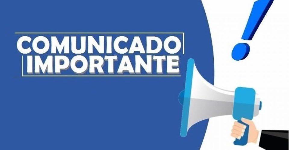 COMUNICADO DA PREFEITURA DE CURURUPU (PREFEITO ALDO LOPES)