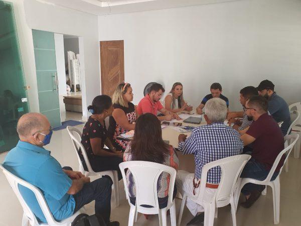 Reunião de Val Cunha com secretários (1)