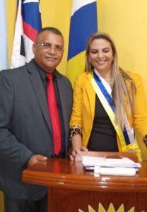 Professor Noir é eleito presidente da Câmara de Serrano do Maranhão.