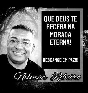 Amigos e familiares lamentam e dão o último adeus a Nilmar Ribeiro, mais uma vítima da Covid-19.