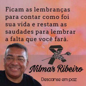Professora Rosinha divulga nota de pesar lamentando a morte de Nilmar Ribeiro.