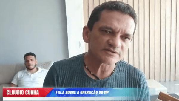 RESPOSTA: Claudio Cunha divulga vídeo confirmando idoneidade de sua gestão em Apicum-Açu e na empresa Guará.