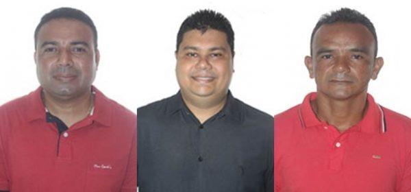Vereadores Egnaldo Fonseca - Dr. Henrique Chaves - Zito