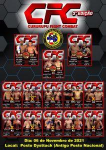 CFC - CURURUPU FIGHT COMBAT - Conheça nosso Instagram